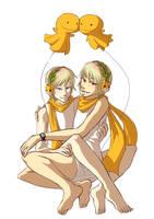 Twins by hasuyawn