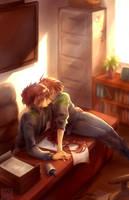 office romance by hasuyawn