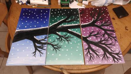 Tri color branch by KuraiYaminoChan