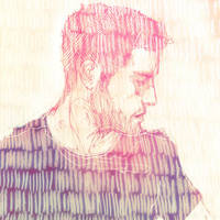 A self-portrait by Kyendo