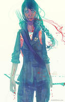 Katniss Everdeen by Kyendo