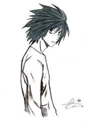 Death Note- L Lawliet by Karasu-S15