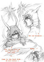 Ulquiorra sketches by shirotenshi-chan