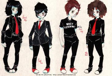 mY cHem references. Toro added by prince-kai