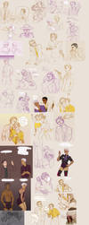 Night vale sketchdump 3 by Sour-Purple