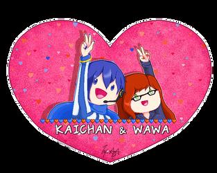 -kaichan + wawa- by AceAttorneygirl
