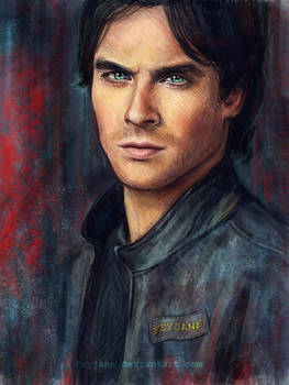 _ Ian Somerhalder _ by Feyjane