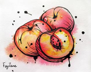 Peaches by Feyjane
