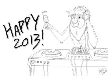 Happy 2013 Everybody! by pauinhopc