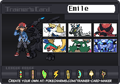 Chuggaconroy's Pokemon White trainer card by Shiron-the-Windragon