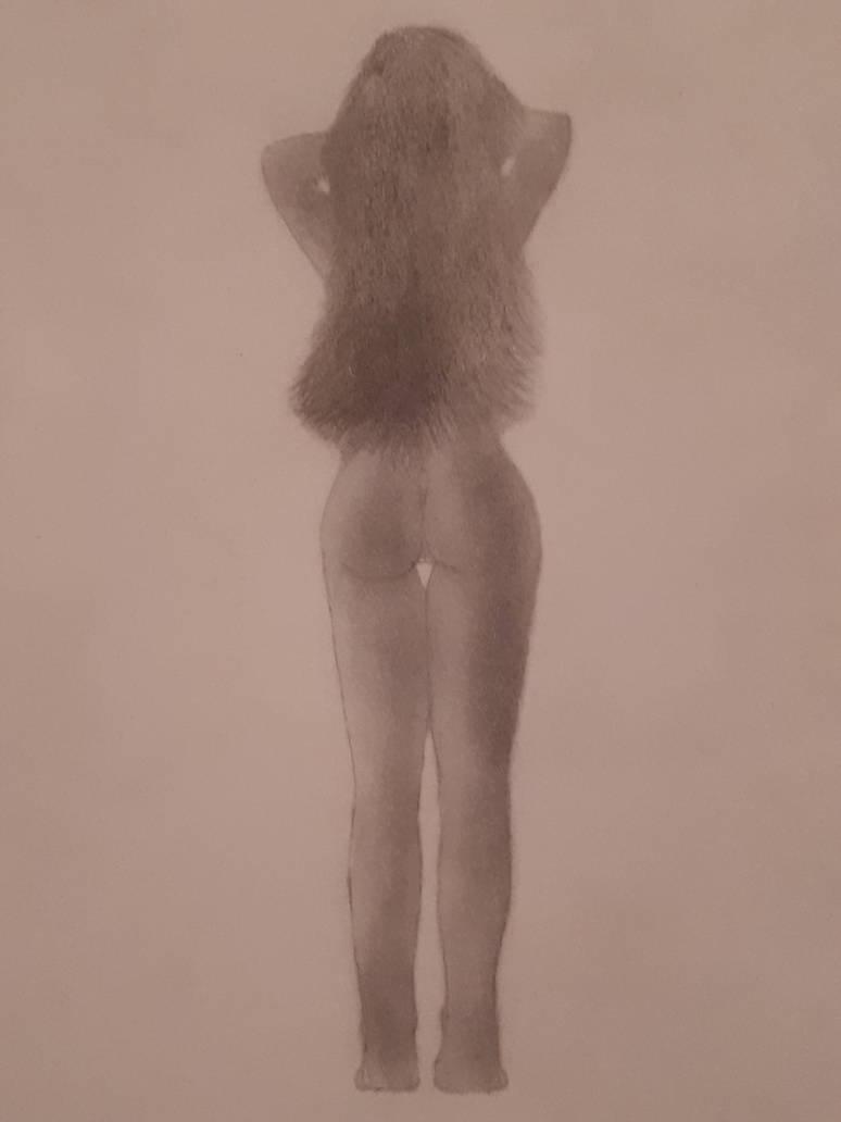 Drawing female by AnthonyLiberty