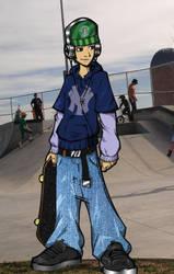 Skateboard-Colored-02 by Colorado-Monk