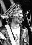 Kurt Cobain art by KrisTi-Ziborova