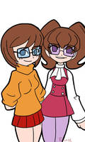 them Dinkley sisters by rongs1234