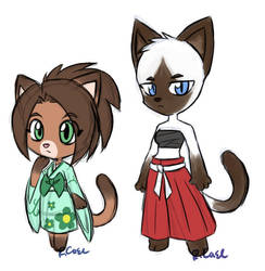 Kitty girl designs by rongs1234