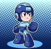 Megaman Classic by rongs1234