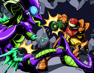 Metroid by rongs1234