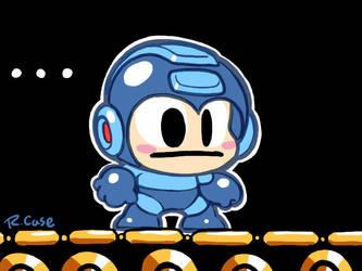 MegaMan Super Mario Maker by rongs1234