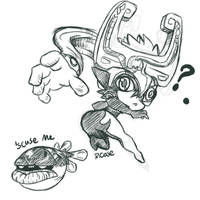Midna doodle by rongs1234