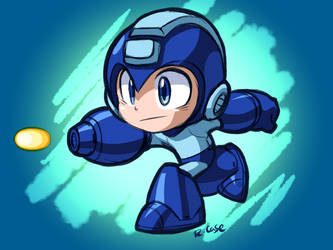 MegaMan by rongs1234