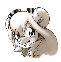 Gadget Bust by rongs1234