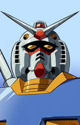 RX-78-2 Gundam bust by rongs1234