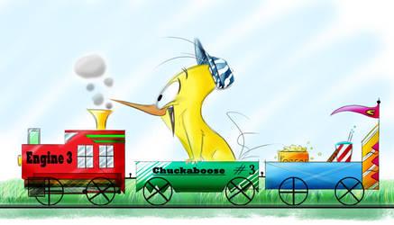 Chuckaboose! by Mitch-el