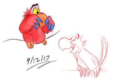 Iago Sketches by Mitch-el