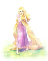 Tangled- Rapunzel by Snonfield