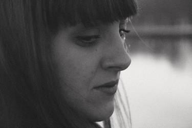 grey portrait by sigurka