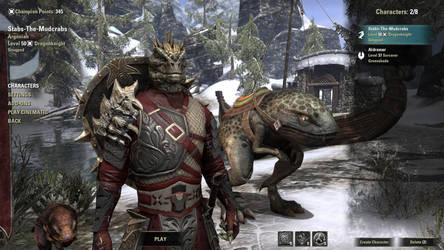 ESO Character Profile: Stabs-The-Mudcrabs by pwnsage