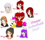 My Valentines by BornATiger-chan
