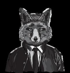 Fox in suit by Urpoliitikko