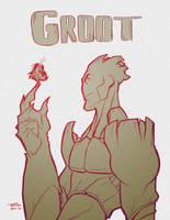 Groot Break Sketch by Tongman
