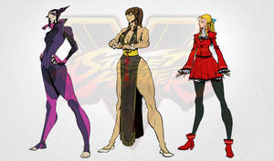SFV Ladies by Tongman