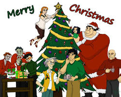 A JCA Xmas-My Gift to You All by TheLastUnicorn1985