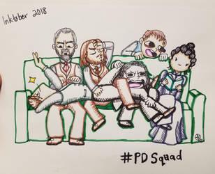 Inktober2018:Week1: Penny Dreadful Squad 2 by TheLastUnicorn1985