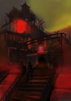 Mysterious Tea house by KazukiAce