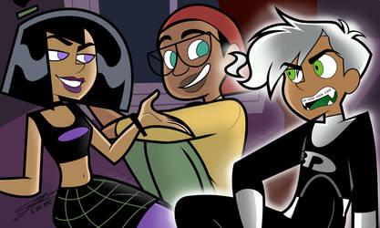 DP: Just a trio by CartoonFreakshow