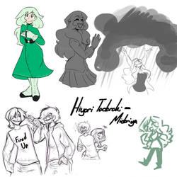 Bnha: Hiyori Todoroki-Midoriya by CartoonFreakshow