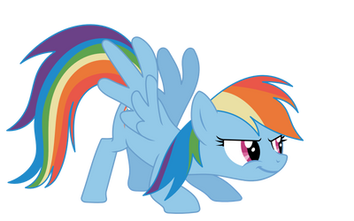 Rainbow Pounce by geradexacondari