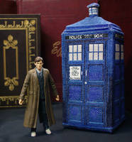 TARDIS in 3D Cross Stitch Plush Pattern by rhaben