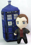 The Ninth Doctor Who 3D Cross Stitch Doll by rhaben