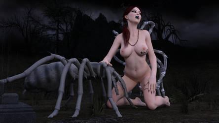 The Vampires Brides 06-02 Queen of Spiders by Snapshotz3D