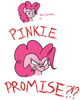 Breaking a Pinkie promise by TheSassyJessy