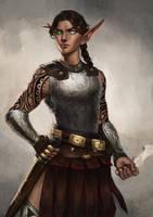 Commission: bitchimcatwoman by MarcelaFreire