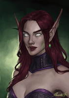 Commission: Elvarine Thenteth by MarcelaFreire