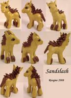 Sandslash Pony by Roogna