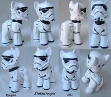 Stormtrooper pony by Roogna
