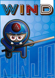 Ninja Wind by K-ther